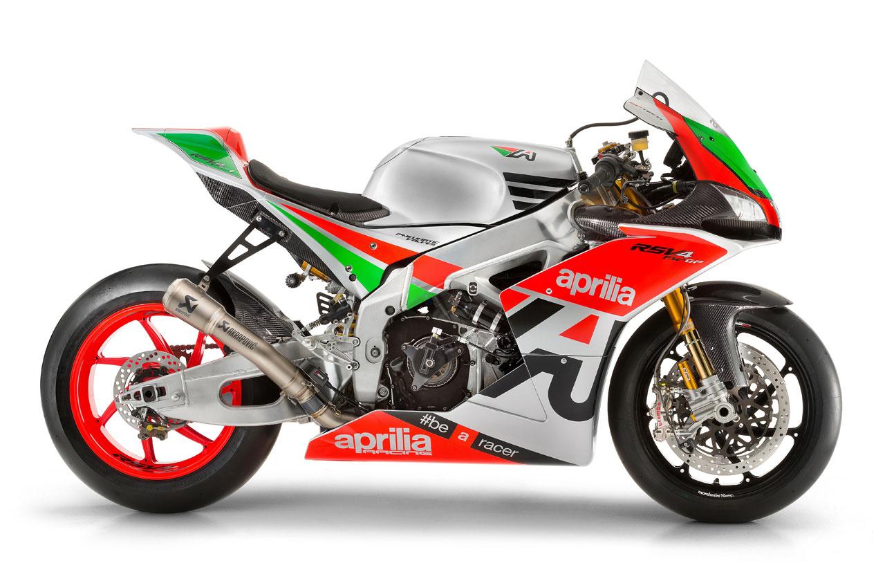 Aprilia RSV4 R FW-GP, Noale te ofrece 250 cv y tratamiento de piloto de fábrica