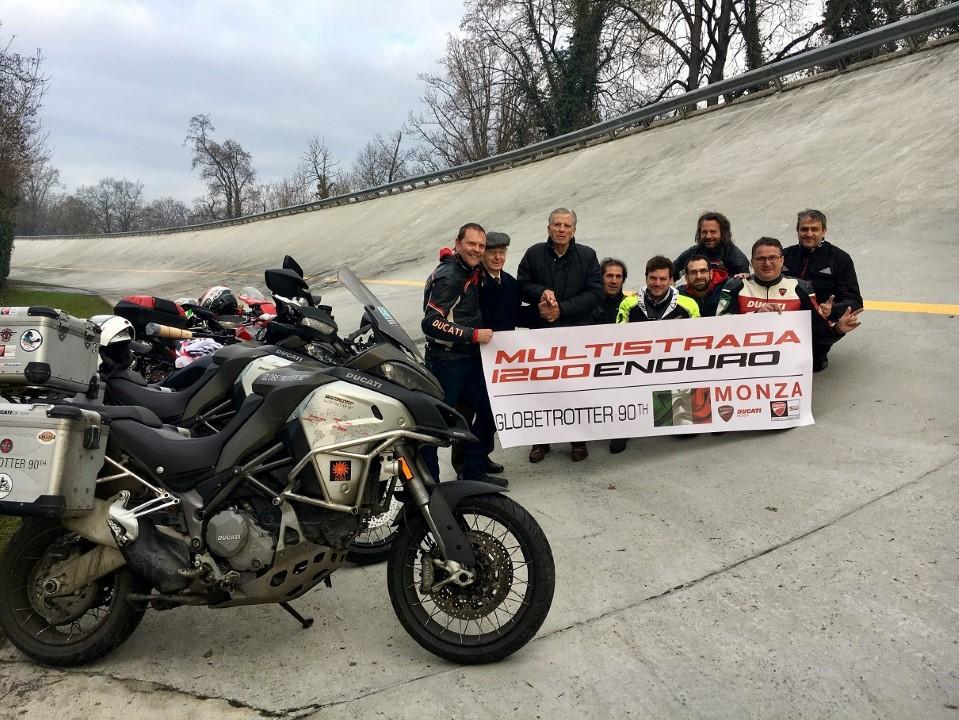 Así ha sido la vuelta al mundo en una Ducati MTS Enduro