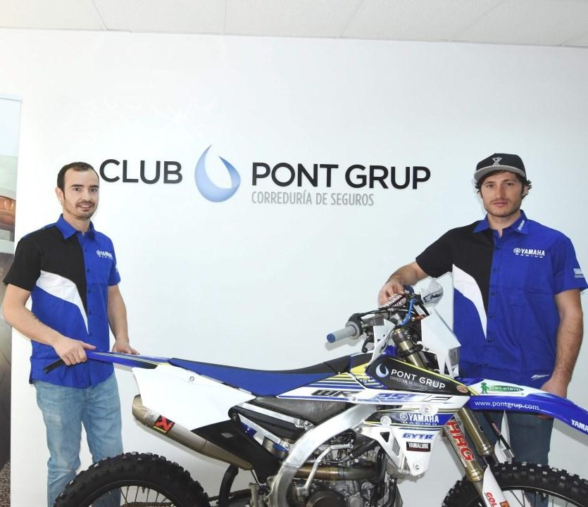 El Pont Grup Yamaha presenta sus pilotos de enduro 2017