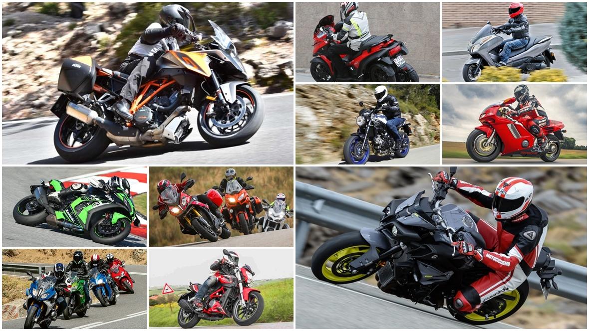 Las 10 pruebas de motos de 2016 más vistas en Motociclismo