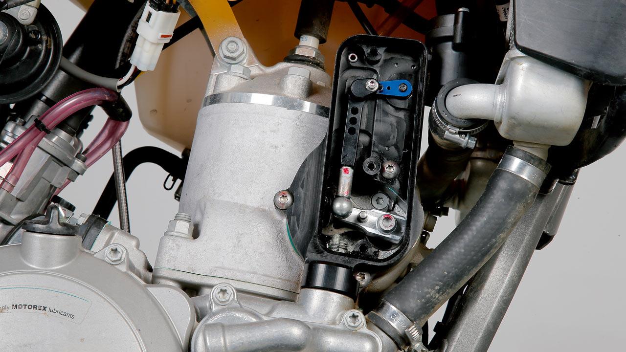 Válvula de escape electrónica para KTM 2T