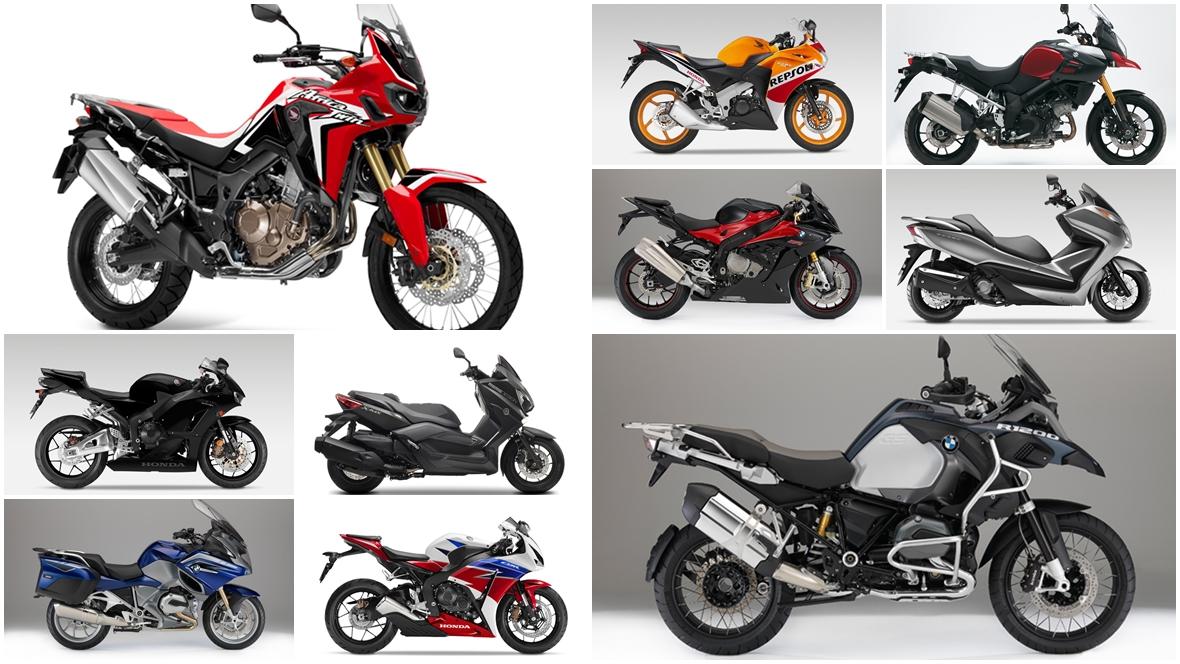 Las 10 motos más buscadas de 2016