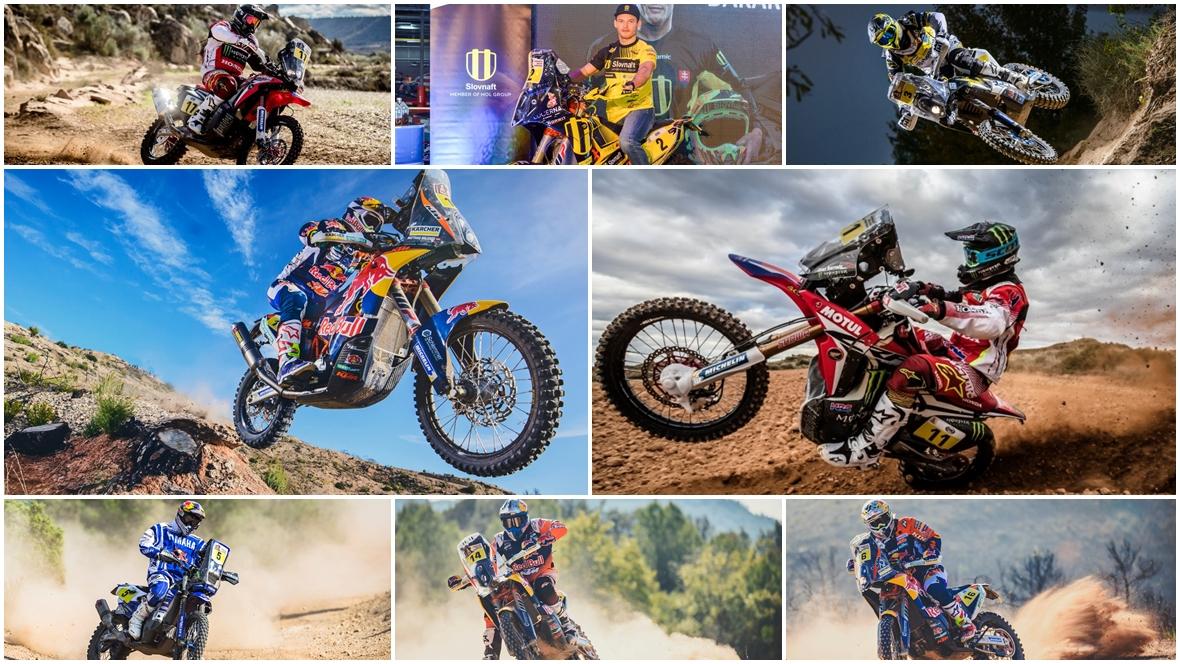 Dakar 2017, estos son los ocho favoritos
