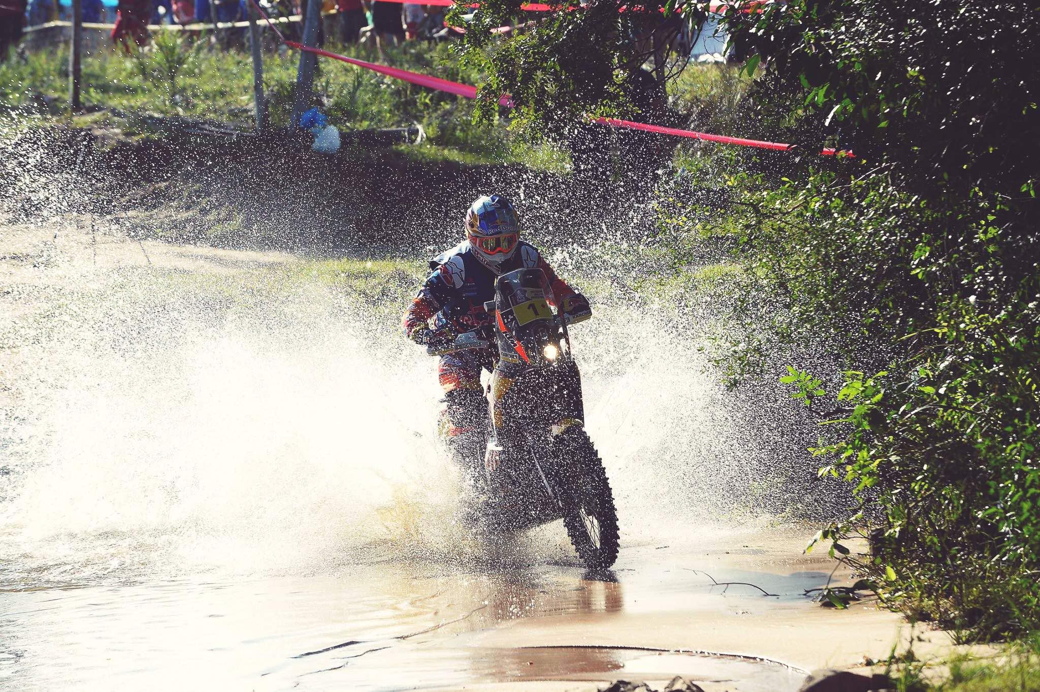 Dakar 2017, Toby Price gana la segunda etapa y se pone al frente