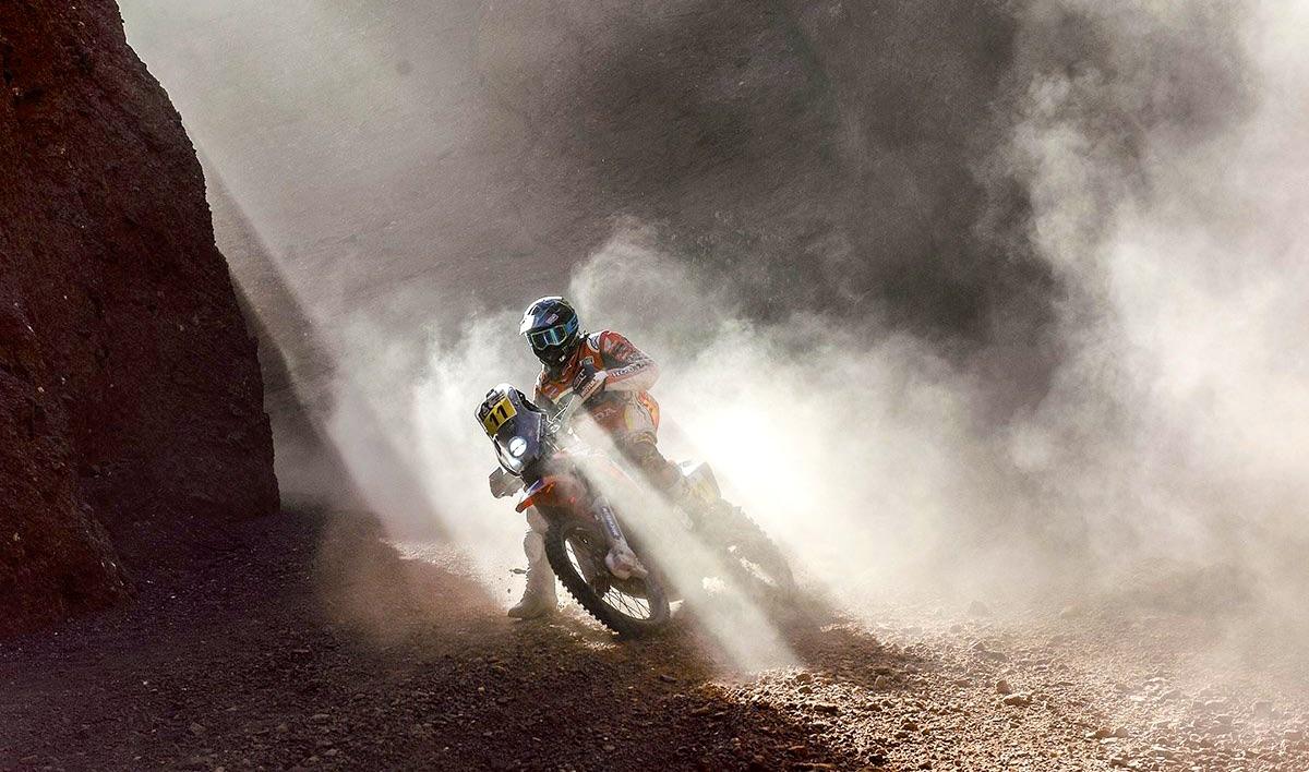Dakar 2017, Joan Barreda da el primer gran golpe: victoria de etapa y 11 min de ventaja
