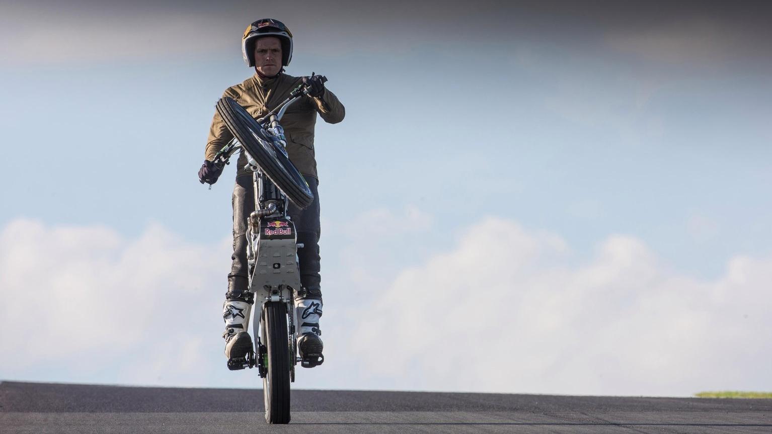 El caballito de 60 kilómetros de Doug Lampkin en la Isla de Man, ya en vídeo