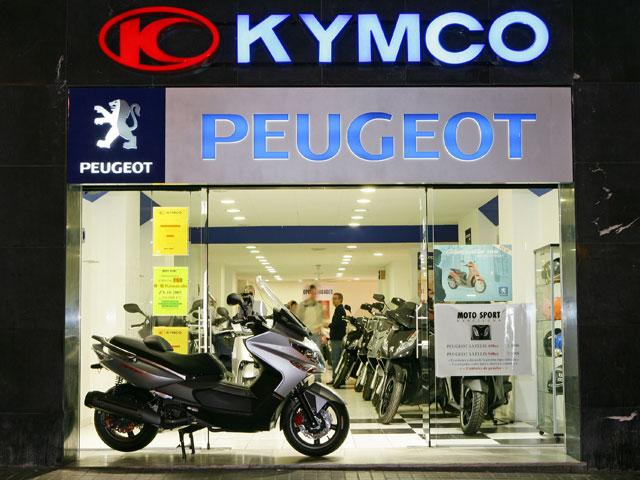 Kymco crece en Barcelona