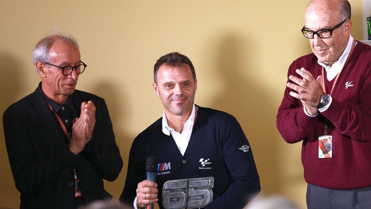 Loris Capirossi representará a Dorna en Dirección de Carrera