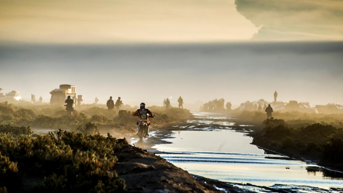 Dakar 2017, cancelada la etapa reina por un desprendimiento de tierra