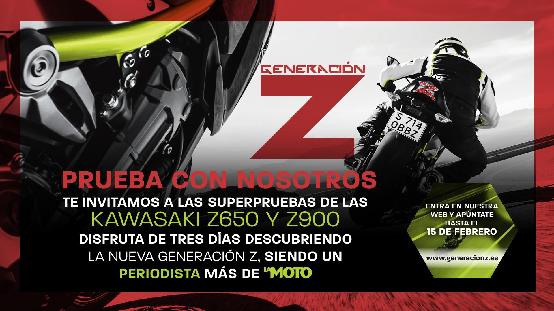 Prueba con nosotros las nuevas Kawasaki Z650 y Z900