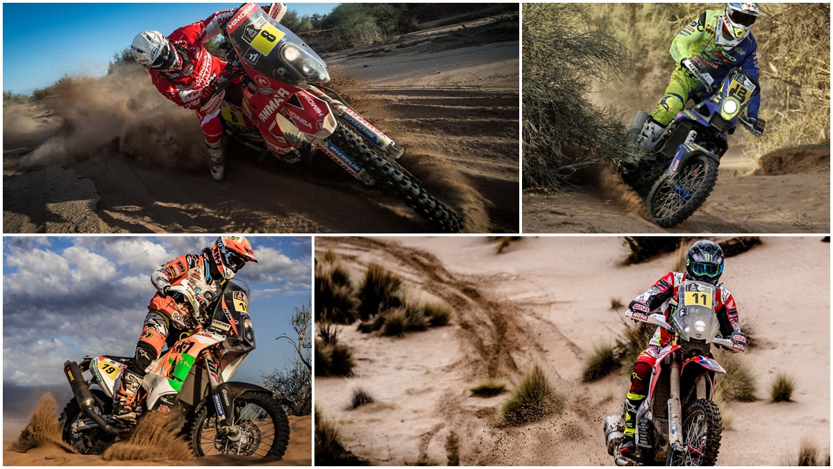 El podio de Gerard Farrés y el póquer de Joan Barreda, el color español del Dakar 2017