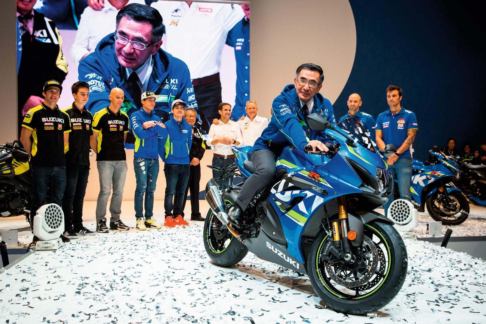 """Entrevista a Toshihiro Suzuki: """"Pasada la crisis volveremos a producir motos más divertidas"""""""