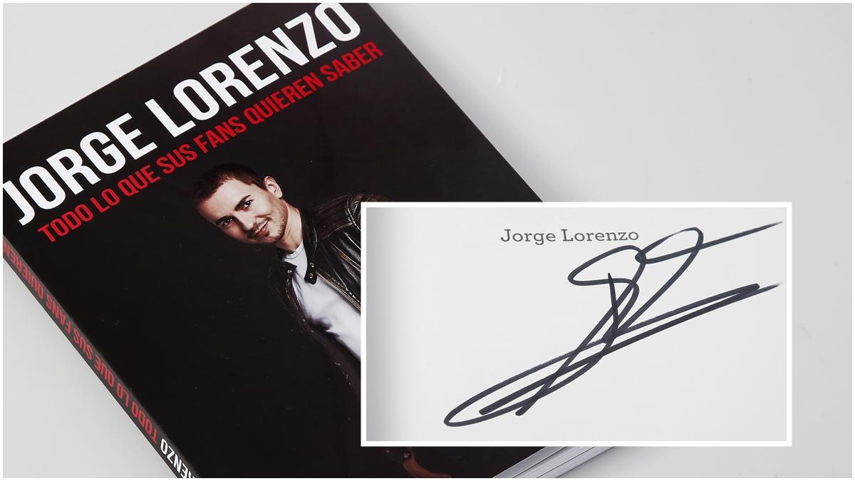 Gana el nuevo libro de Jorge Lorenzo firmado por el protagonista