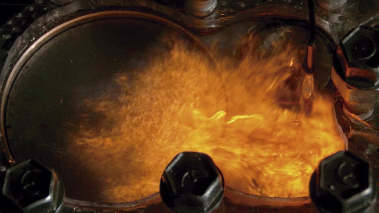Motor de combustión a 4.000 imágenes por segundo y 4K