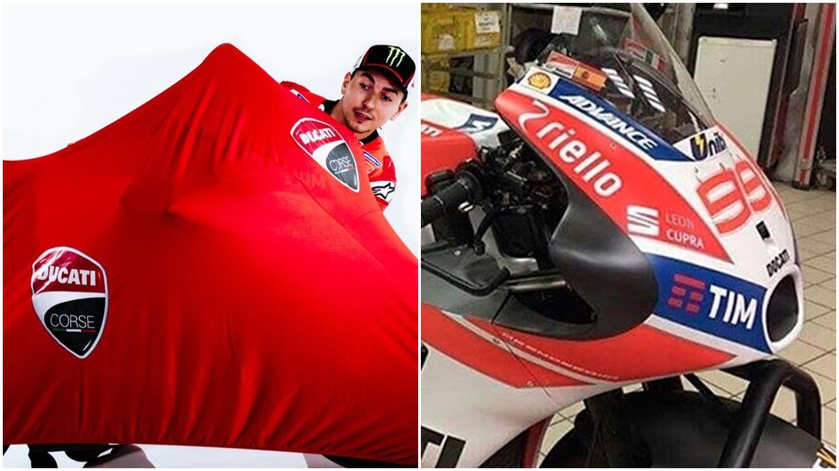 ¿Será esta la nueva Ducati de Jorge Lorenzo?