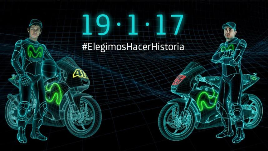Disfruta de la presentación íntegra de Yamaha 2017 con Valentino Rossi y Maverick Viñales