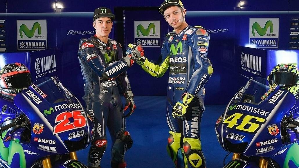 Cuando Valentino Rossi conoció a Maverick Viñales