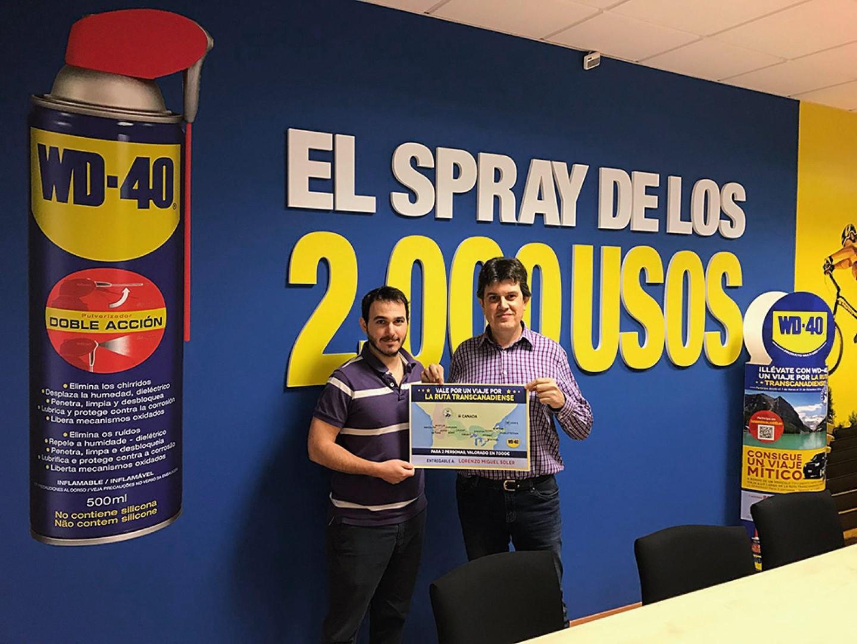 Ganador Rutas Míticas WD-40 2016