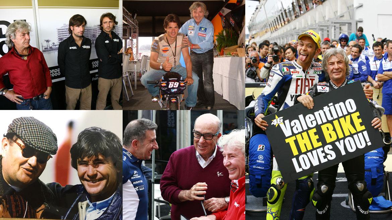 Las 12+1 felicitaciones por el 70 cumpleaños de Ángel Nieto