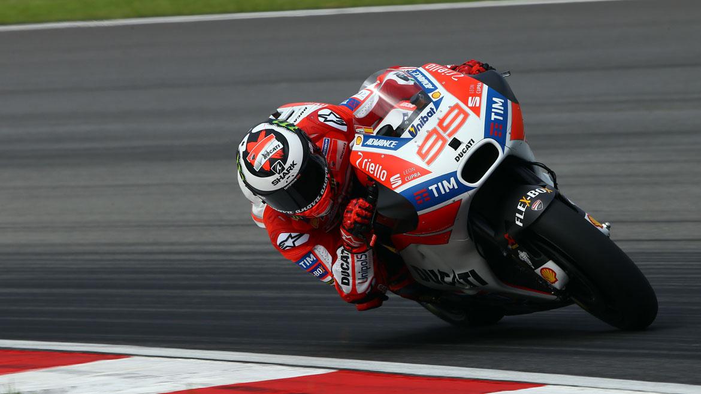 """Jorge Lorenzo: """"Tengo más trabajo del que esperaba para adaptarme a la Ducati"""""""