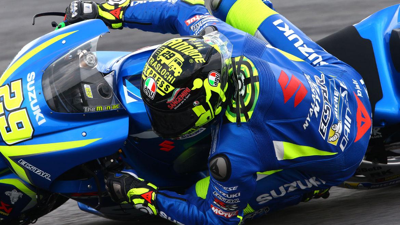 """""""Un buen inicio de temporada"""" para Suzuki y Andrea Iannone"""