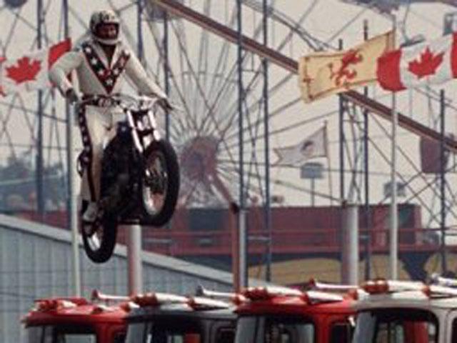 Fallece el acróbata Evel Knievel