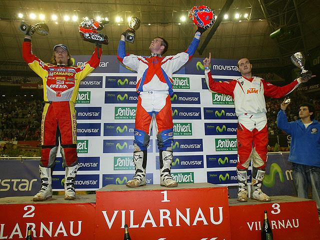David Knight gana el Enduro Indoor de Barcelona