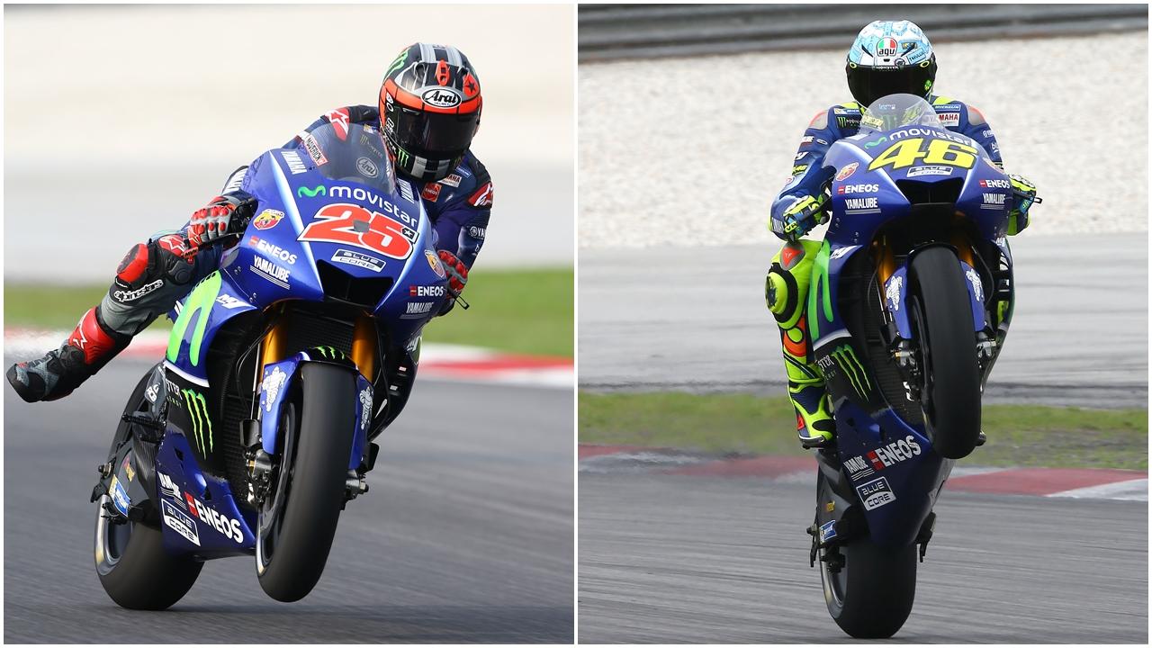 """Maverick Viñales tiene """"la mejor moto"""" y Valentino Rossi se ve """"muy cerca"""""""