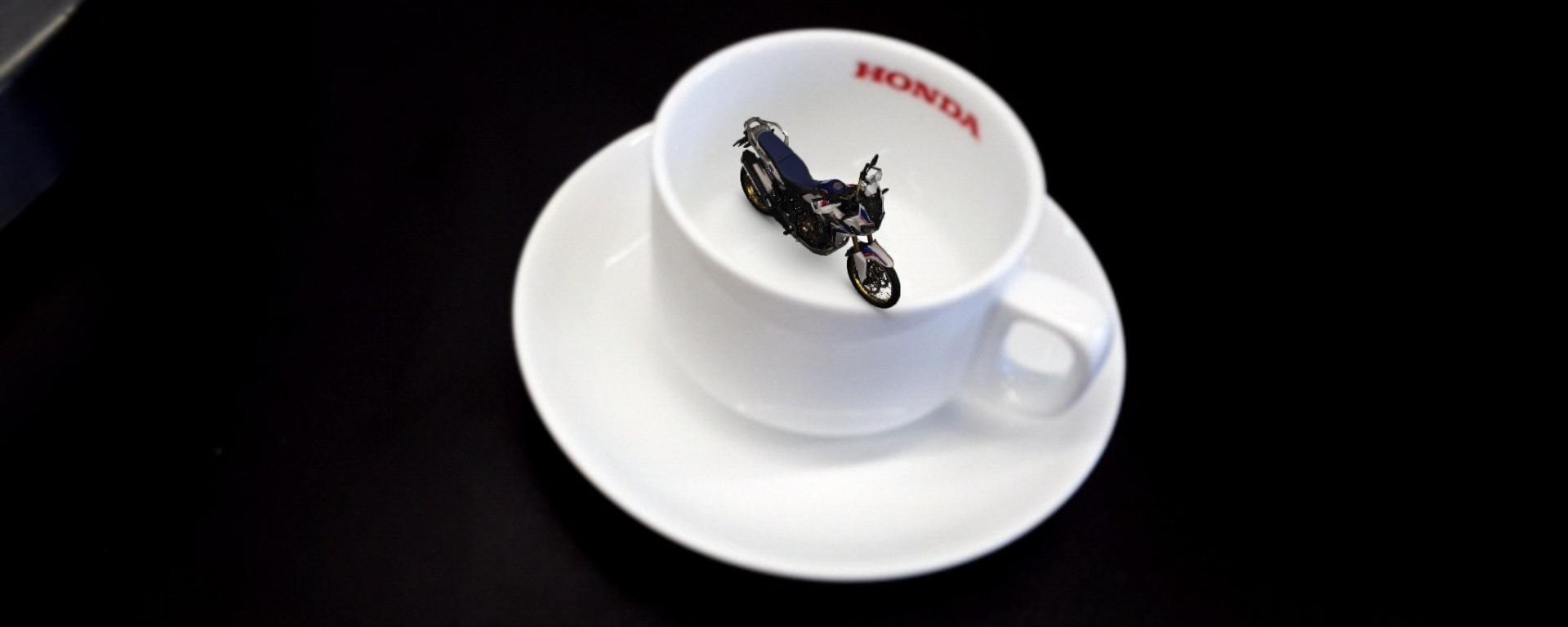 Una forma única de ver la Honda Africa Twin