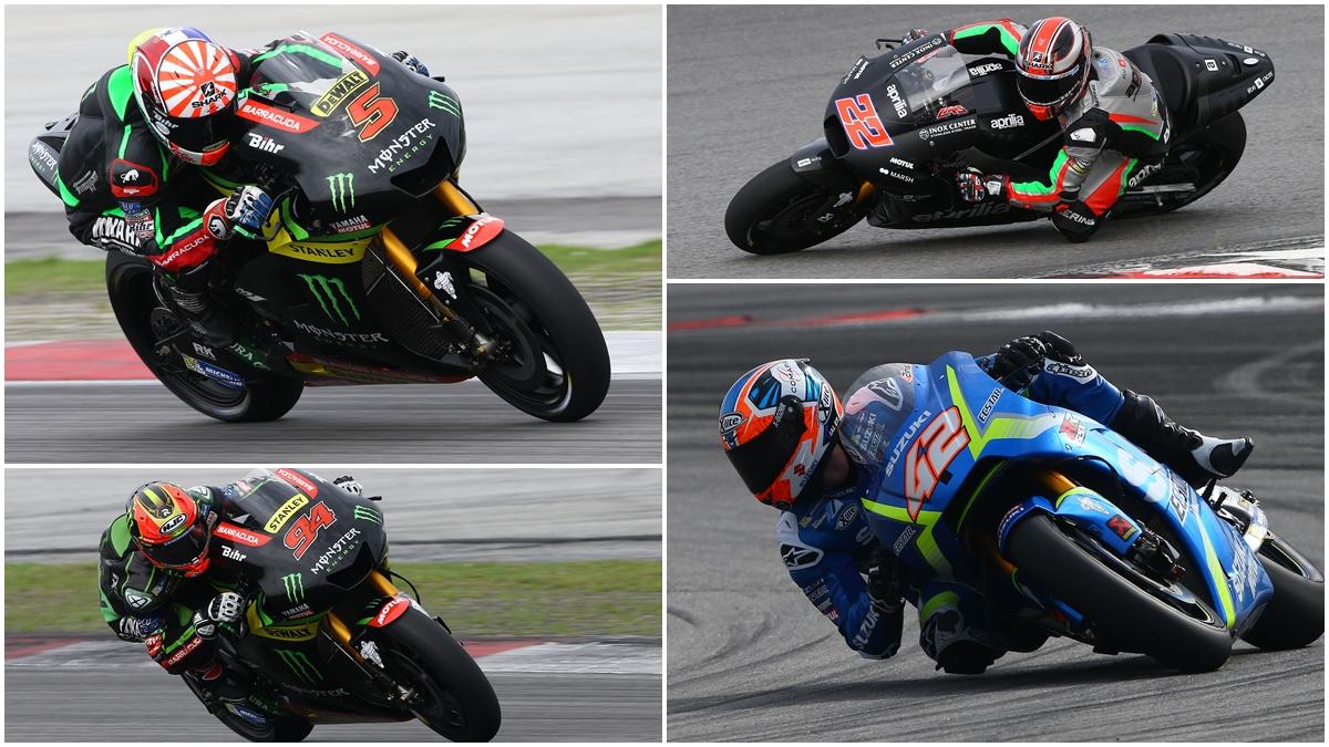 Johann Zarco manda y Álex Rins acecha en la lucha de rookies de MotoGP 2017