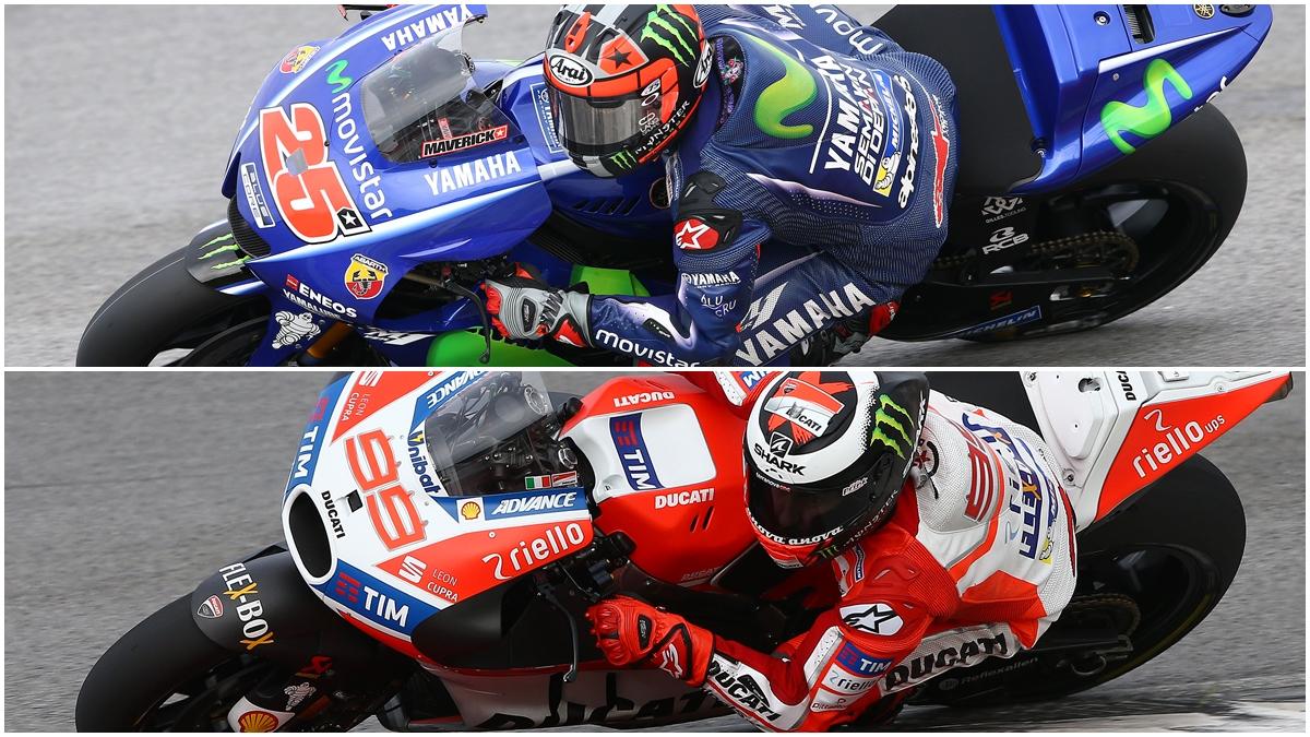 Maverick Viñales, Jorge Lorenzo y los diversos procesos de adaptación a MotoGP 2017