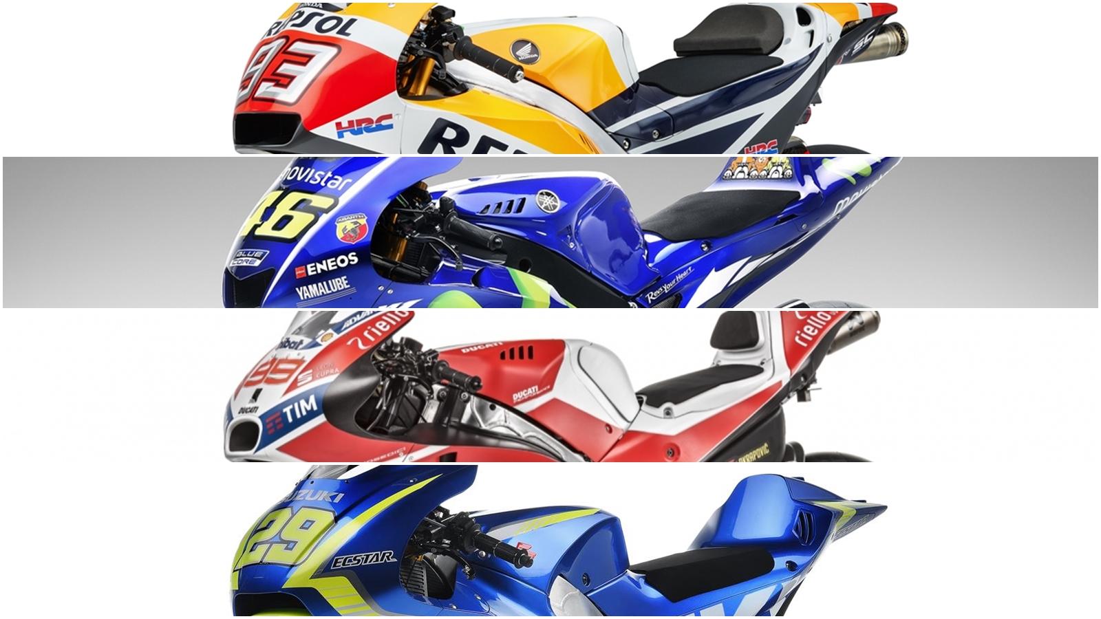 ¿Cuál de estas motos ganará MotoGP 2017?