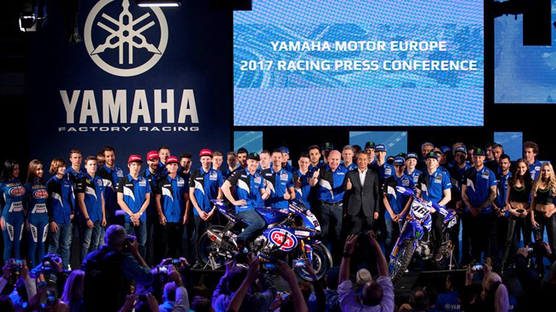 Yamaha exhibe músculo racing en su presentación internacional