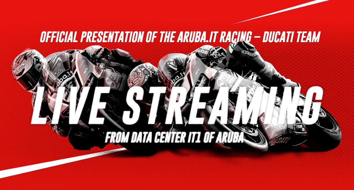 Revive la presentación del Aruba Ducati con Marco Melandri y Chaz Davies