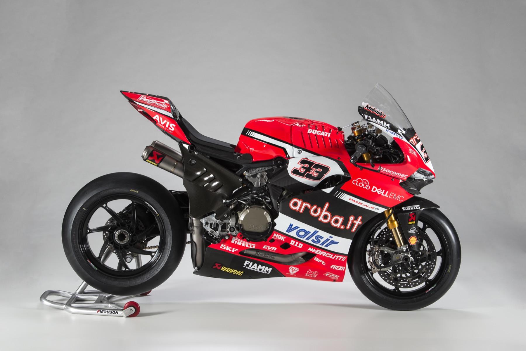 Estas son las Ducati Panigale R de Marco Melandri y Chaz Davies