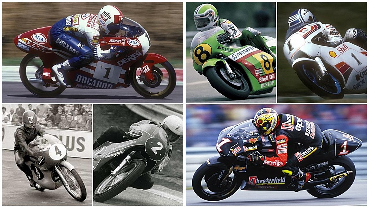 Las otras leyendas de MotoGP (1/4): El club de los tetracampeones