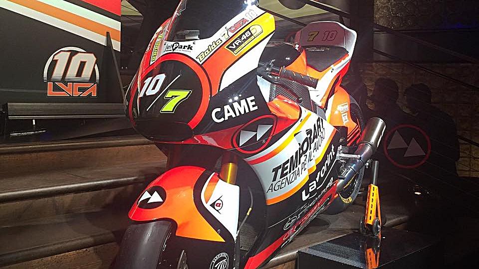 Presentado el Forward Racing de Moto2 con Lorenzo Baldassarri y Luca Marini