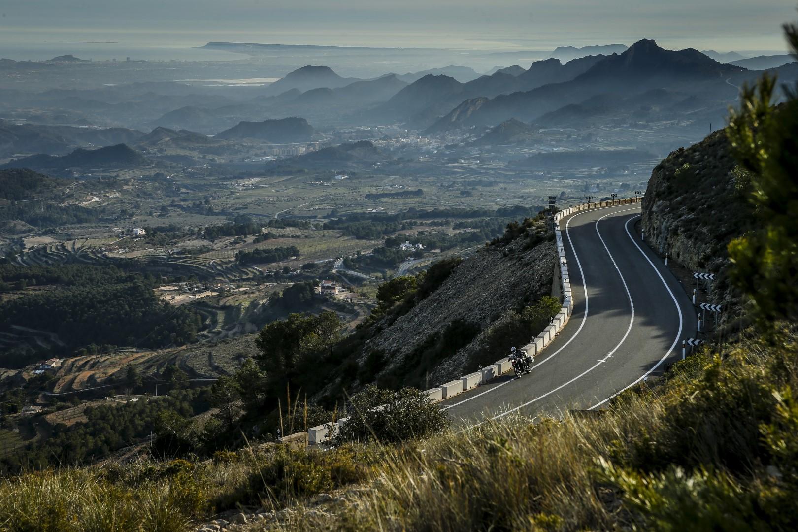 Ruta en moto por el sur de Levante con Ruralka