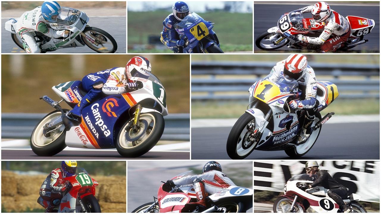 Las otras leyendas de MotoGP (3/4): Pequeños campeones inolvidables
