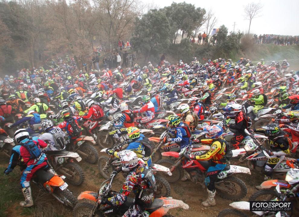 Bassella Race 1, el mayor evento de la moto de enduro en España con 1.300 participantes