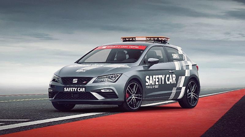 El Seat León Cupra, nuevo Safety Car del mundial de Superbike