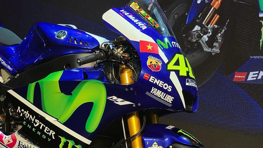 Valentino Rossi y Maverick Viñales llevarán la bandera de Vietnam en MotoGP 2017