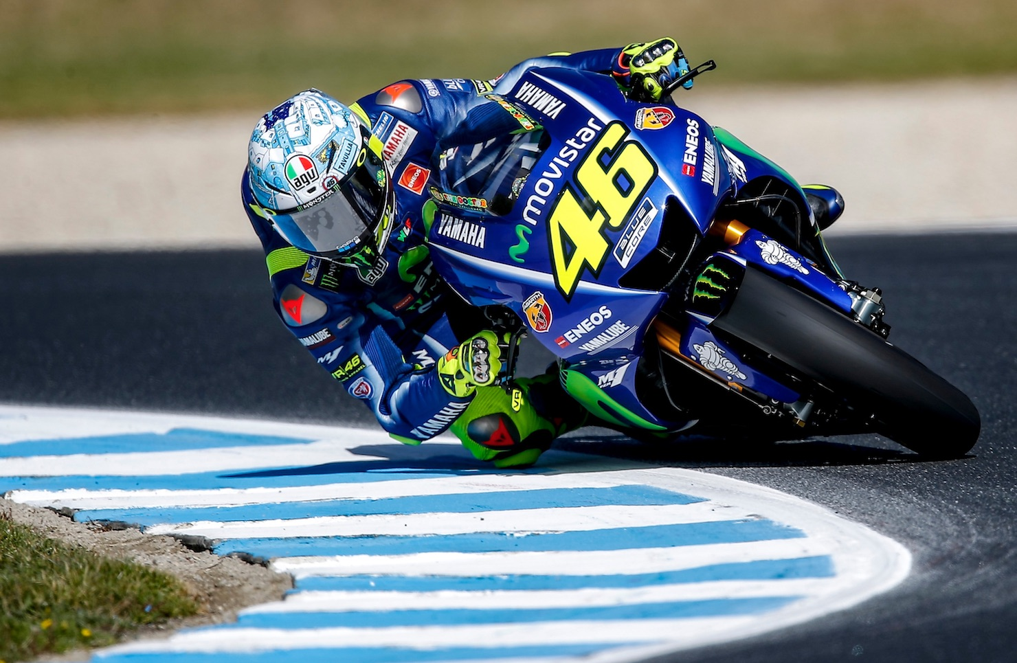 """Valentino Rossi: """"Hemos empezado mal pero mejorado. Tenemos mucho por hacer en distancias largas ..."""