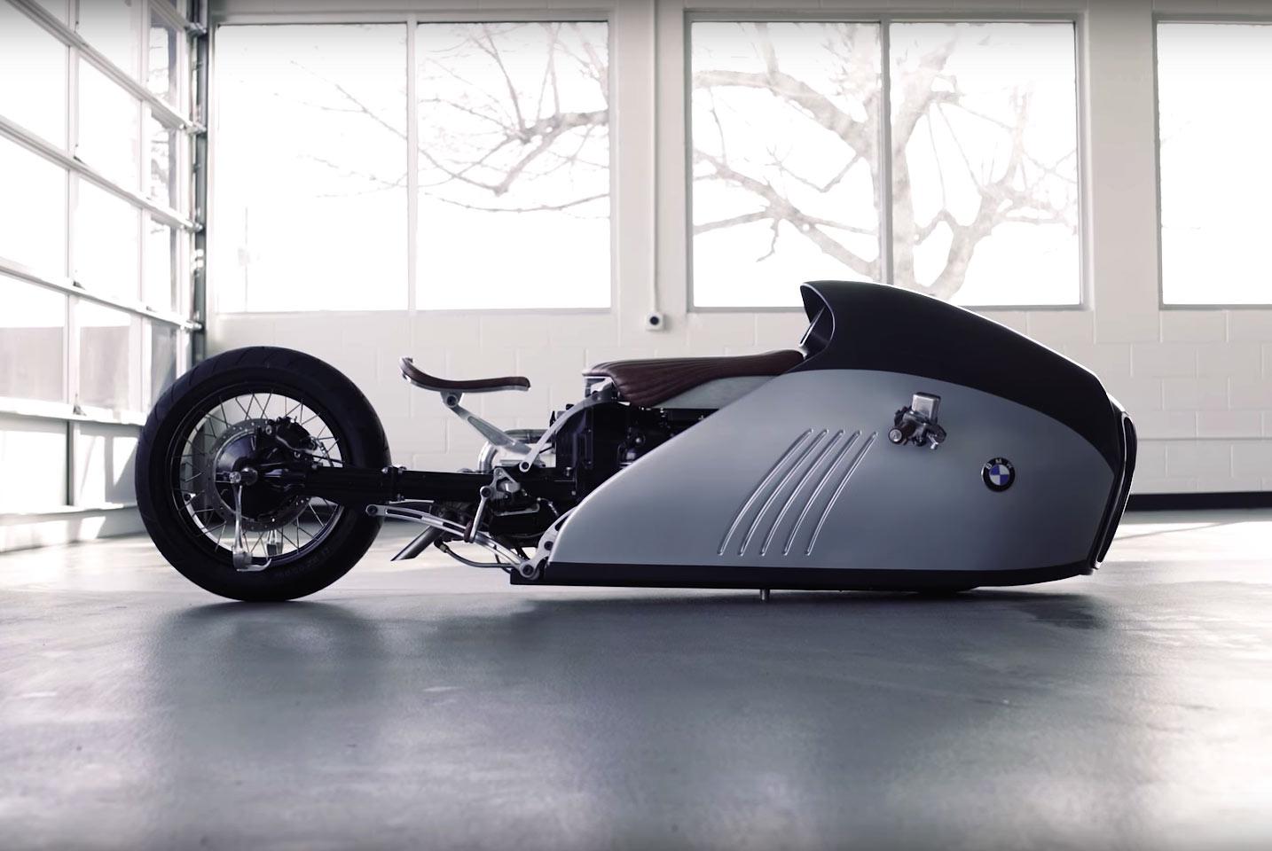 """BMW K75 """"Alpha"""", el espectacular tiburón de las motos"""