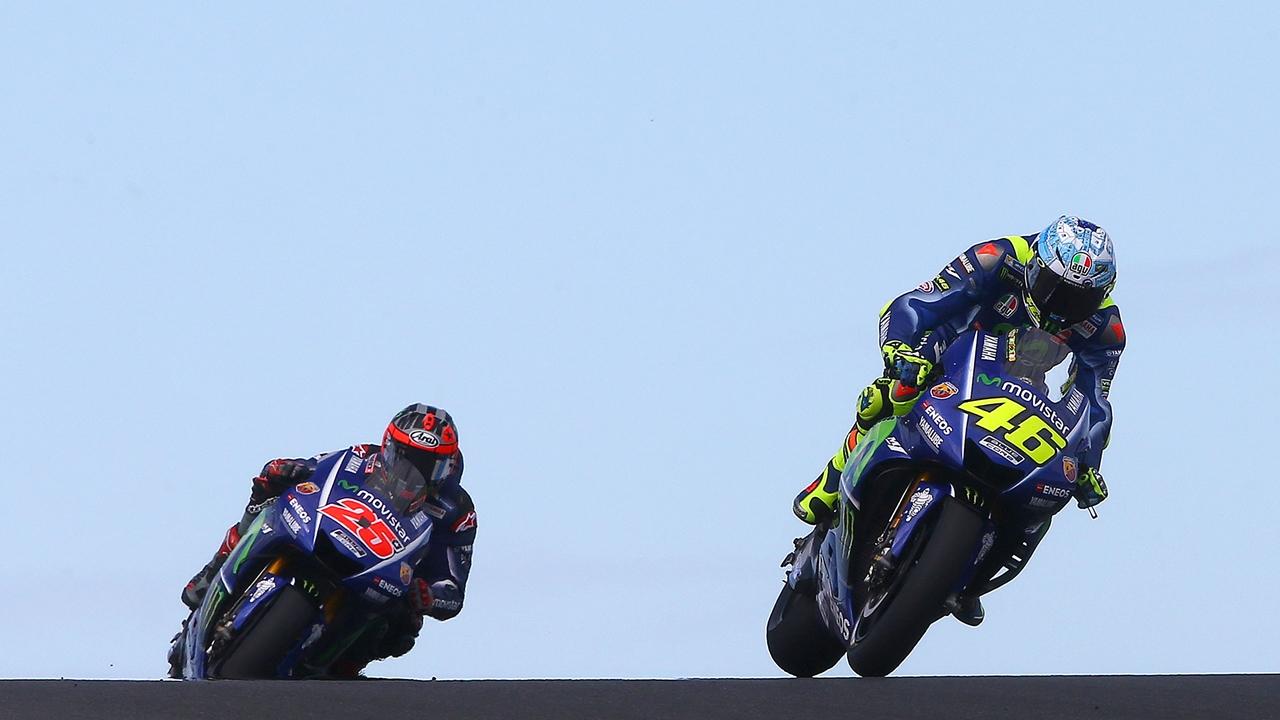 """Maverick Viñales y Valentino Rossi coinciden: """"Nos hemos centrado en el ritmo de carrera"""""""