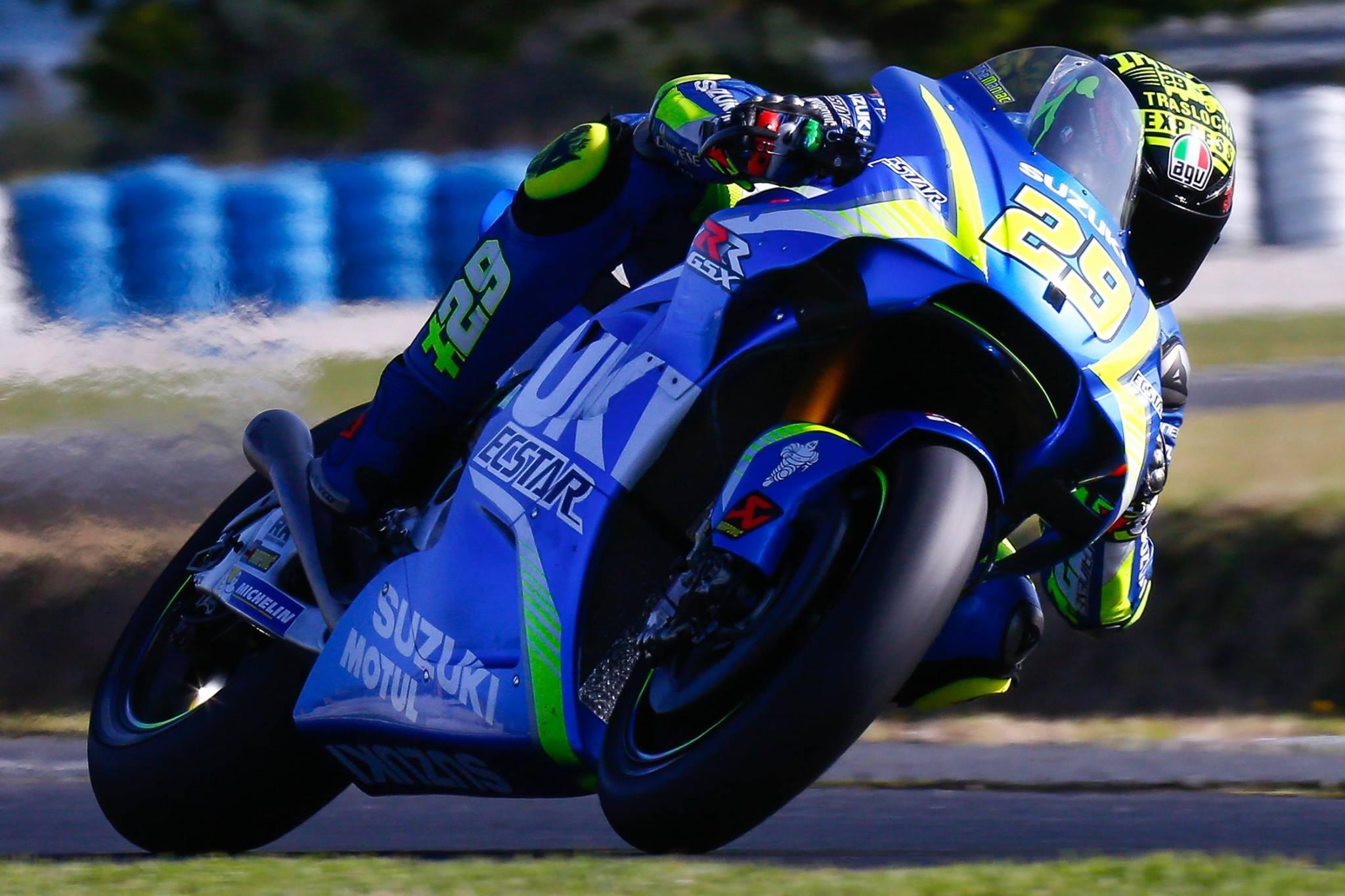 Alerones en MotoGP, turno de Suzuki y Aprilia con carenado de doble pared