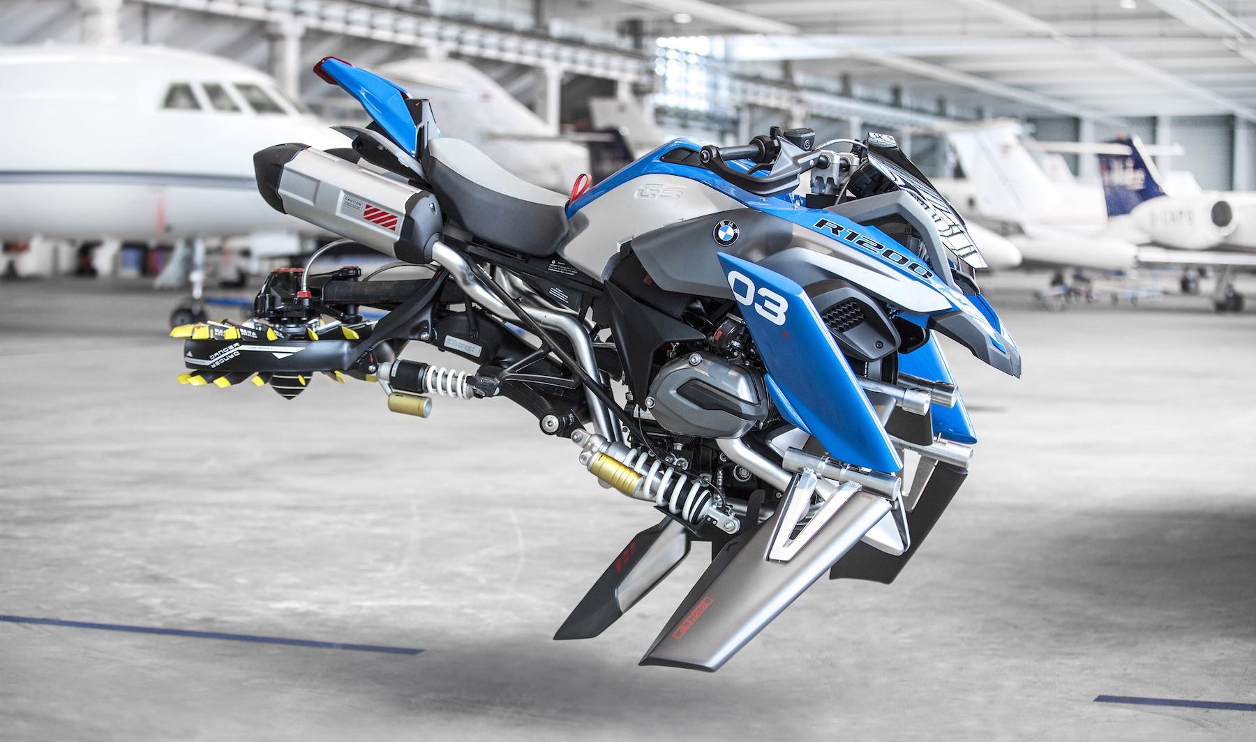 BMW-Lego Hover Ride es lo que ocurre cuando en BMW dejan volar la imaginación