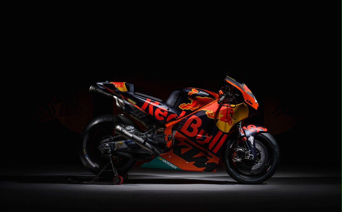 Sigue en directo la presentación del equipo KTM de MotoGP