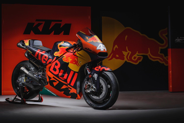 KTM RC16, así es la MotoGP austriaca para 2017