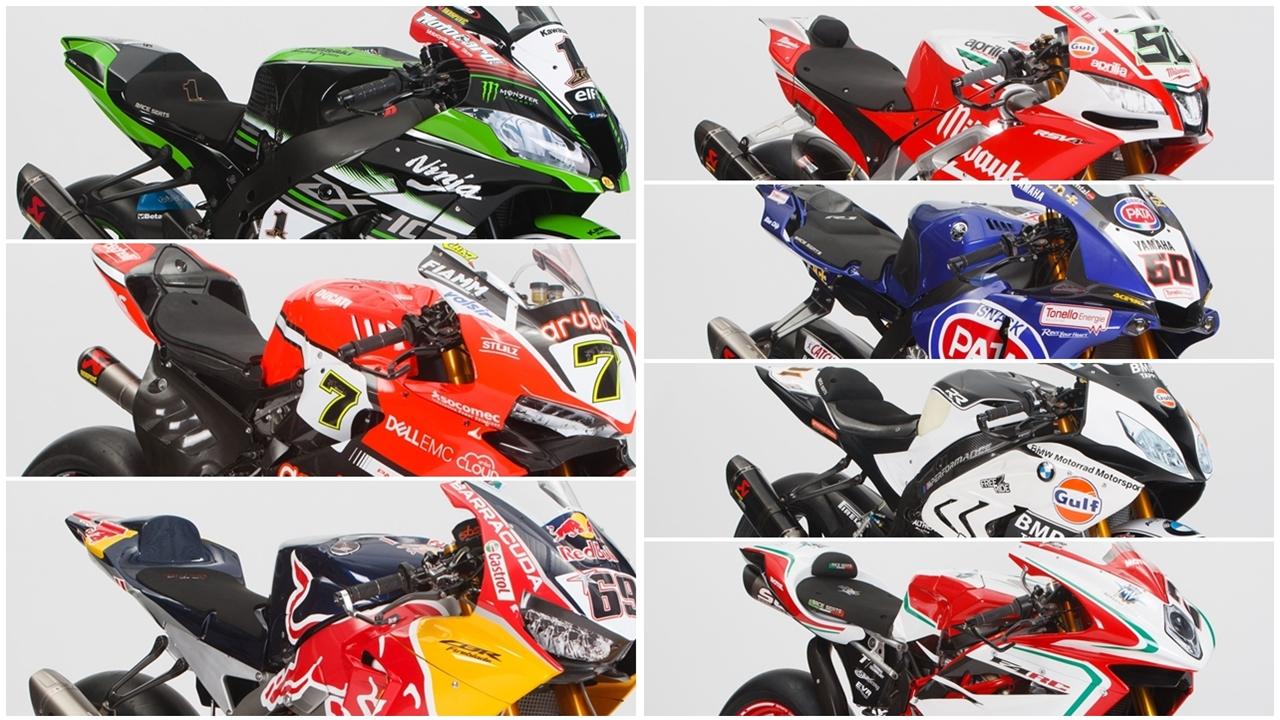 ¿Cuál de estas motos ganará el Mundial de Superbike 2017?